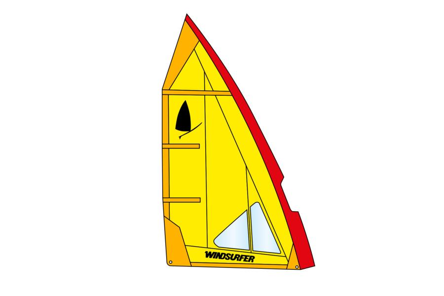 Windsurfer Sail 5,7 Yellow