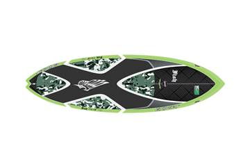 Fish 7'11 x 28'' Custom Carbon Green