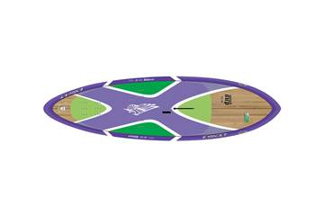 Windsup Wave 9'2 x 30'' Bamboo Purple