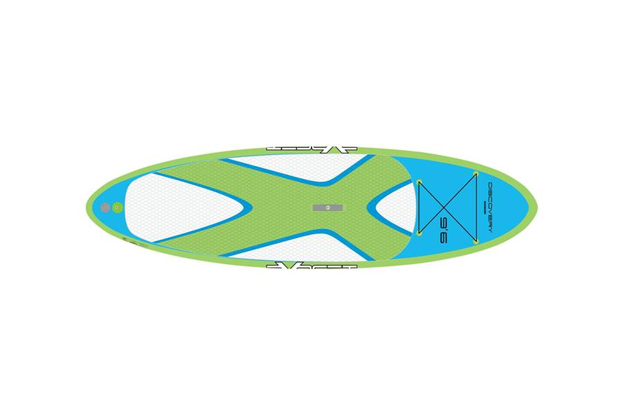 Discovery 10'6 Blue/Green