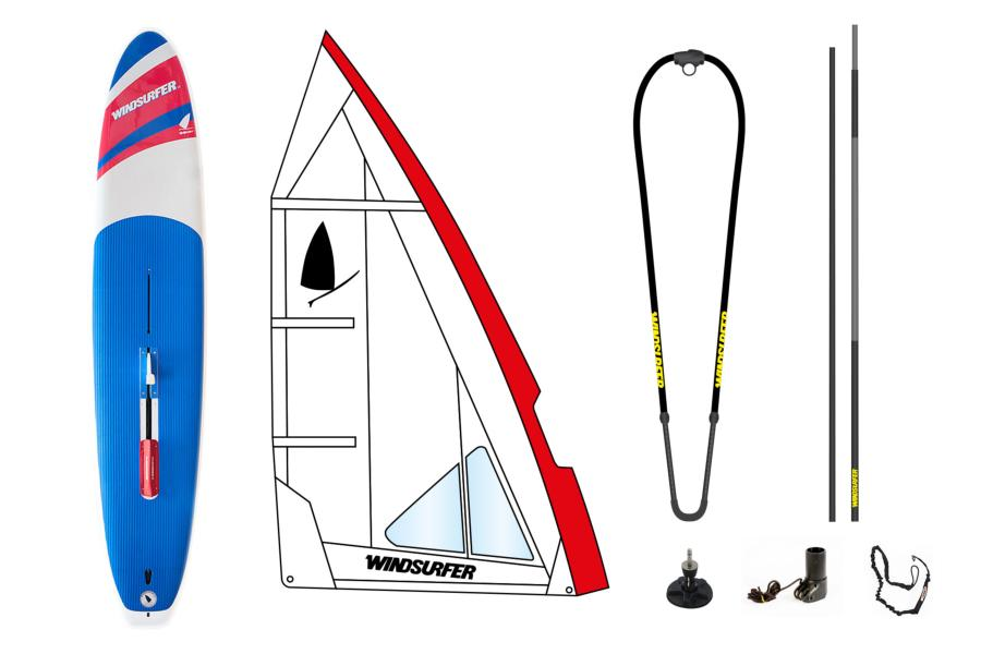 Pack Windsurfer White Occasion