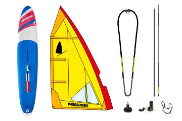 Pack Windsurfer Yellow Occasion