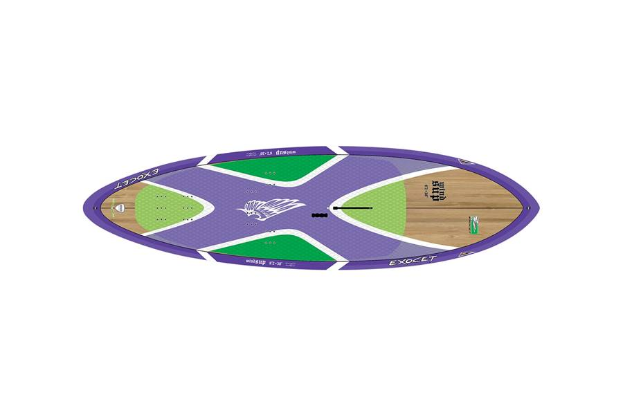 Windsup Wave 10'2 x 31'' Bamboo Purple