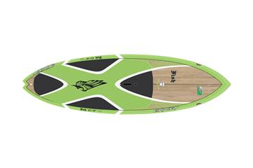 Fish 8'2 x 29 Bamboo Green