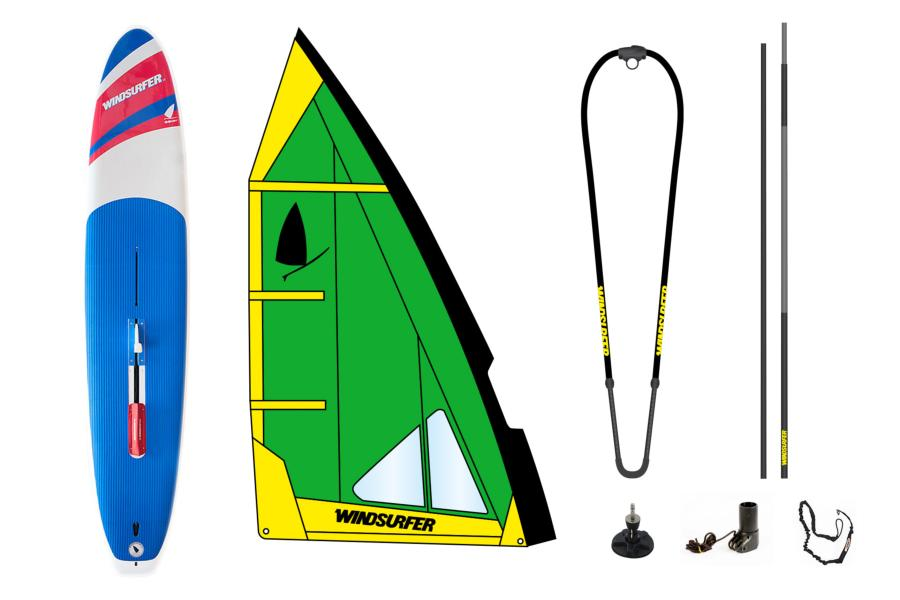 Pack Windsurfer Green Occasion