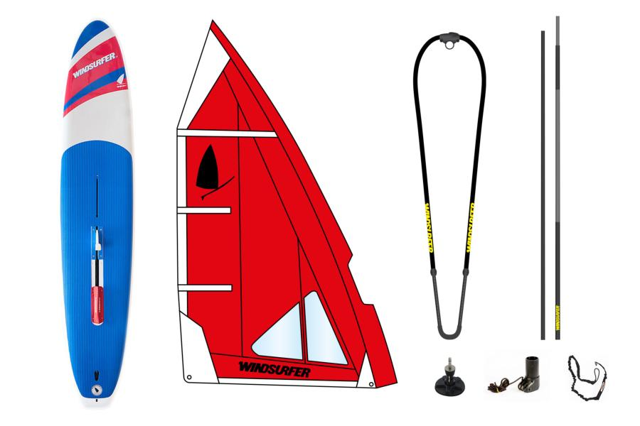 Pack Windsurfer Hot Red Occasion