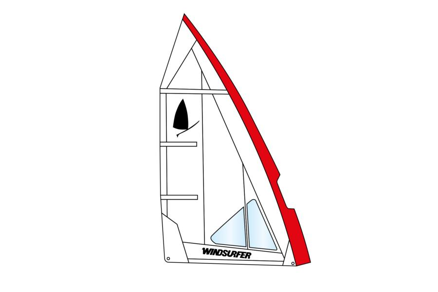 Windsurfer Sail 5,7 White