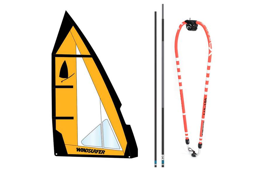 Windsurfer gréement 5,7 OD King